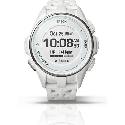 【長期保証付】エプソン J-300W(ホワイト) Wristable GPS 腕時計タイプ