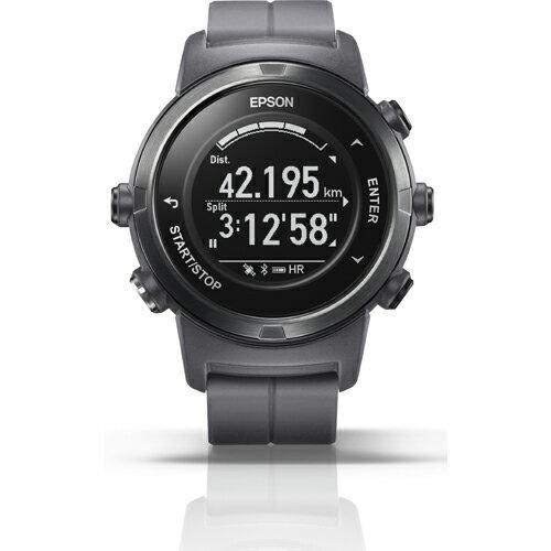 【長期保証付】エプソン J-350F(フロストグレー) Wristable GPS 腕時計タイプ