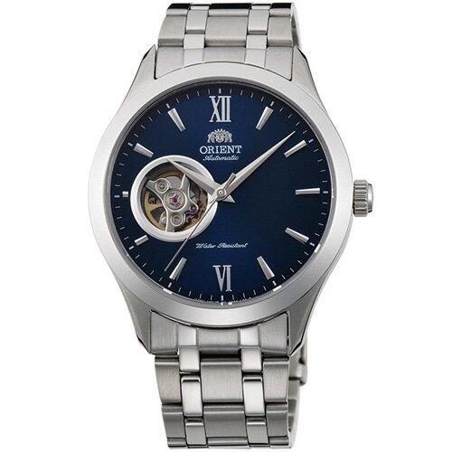 オリエント RN-AG0003L(ネイビー) スタンダード 自動巻き(手巻き付) 腕時計(メンズ)