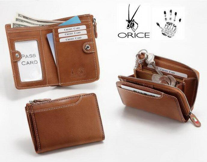 ORICE オリーチェバケッタレザーミディウォレット 69609