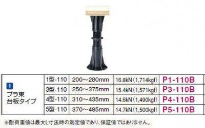 50個入 P1-110B プラ束1型-110 台座タイプ 200~280mm フクビ化学工業 【代引不可】