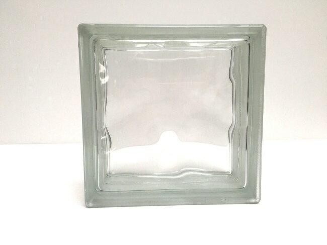NEW!ガラスブロック【クリアスタイル】/クリスタルクリアー/15個セット商品(W190×H190×D80mm)【チェコ製ガラスブロック】