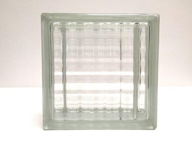 NEW!ガラスブロック【クリアスタイル】/ラティス/15個セット商品(W190×H190×D80mm)【チェコ製ガラスブロック】