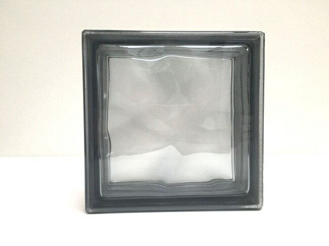 新商品!ガラスブロック【クリスタルスタイル】/クリスタルグレー/15個セット商品(W190×H190×D80mm)【チェコ製ガラスブロック】