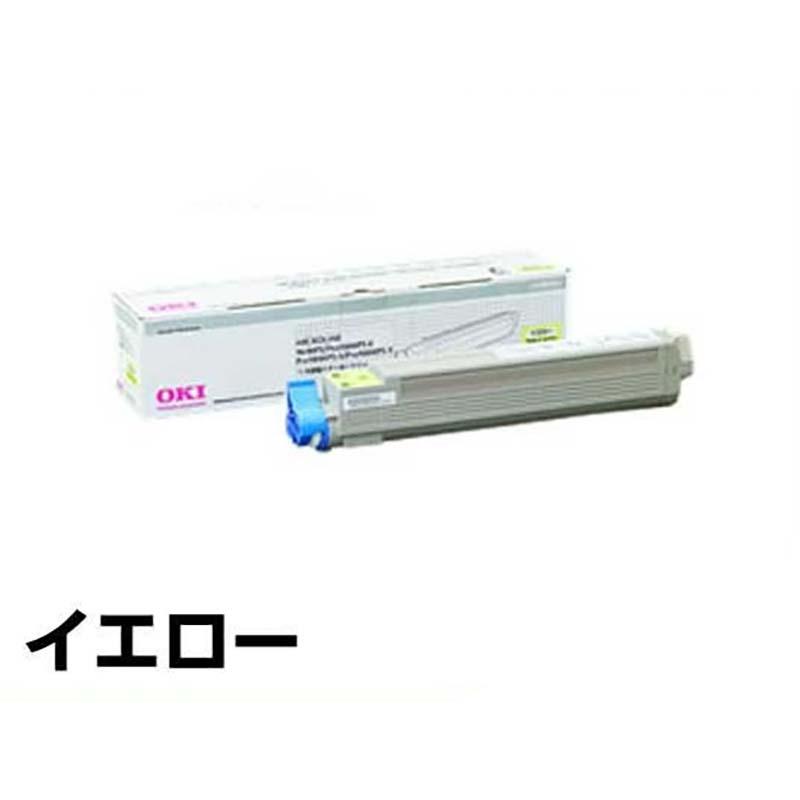TNR-C3CY2 トナー OKI MICROLINE 9600 9800 大容量 黄 純正