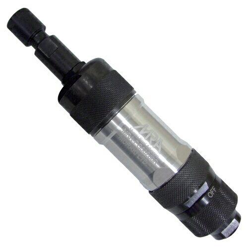 スロットル式ストレートエアーグラインダー(スロットルタイプ/側方排気)Φ6軸付工具用MRA-PG50280R [MRAPG50280R]MRA ムラキスロットル式ストレートエアグラインダ(スロットル式/側方排気)