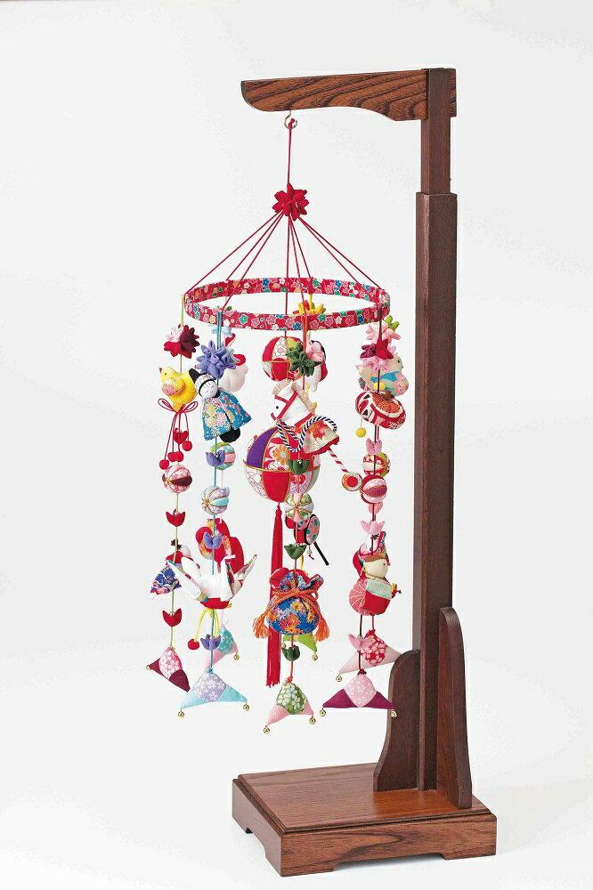 パナミLH-393 京ちりめん 下げ飾り「願いの糸(心願成就)」(全7種類材料セット) つるし雛 キット