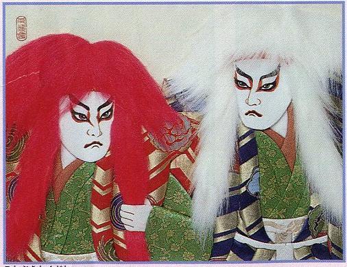 東芸押し絵キット K8828「寿連獅子」 押絵キット(6号)