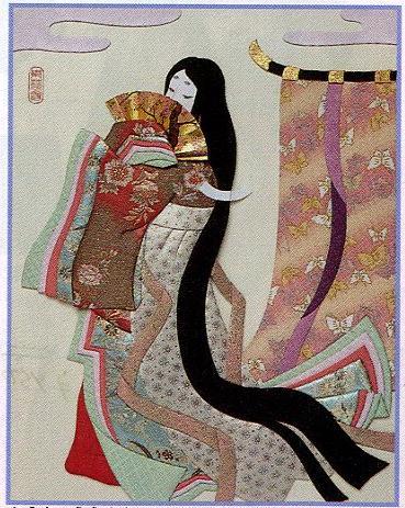 東芸押し絵キット K8917「王朝絵巻」 押絵キット(6号)
