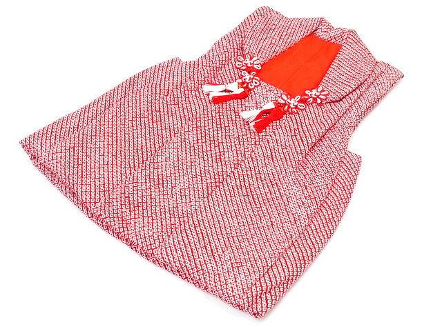 【子供用】被布コート 疋田柄 【七五三】 絹100% かわいい 高級 単品 祝着 ひな祭り wak メール便不可