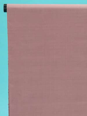 訳あり 結城紬 反物(正絹) 小豆色・無地 店舗キャリー在庫 カジュアル お稽古 ショッピング ランチ 着付け教室 たんもの 着尺