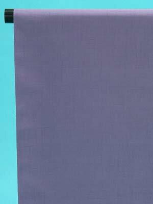 訳あり 結城紬 反物(正絹) 紫苑(しおん)色・無地 店舗キャリー在庫 カジュアル お稽古 ショッピング ランチ 着付け教室 たんもの 着尺