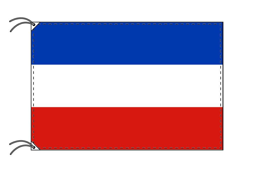 ドイツ・州旗 シュレースヴィヒ=ホルシュタイン州(70×105cm・高級テトロン・日本製)