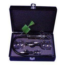吸角療法器具 吸角セット 3コ入(2号1個、3号1個、4号1 明健社