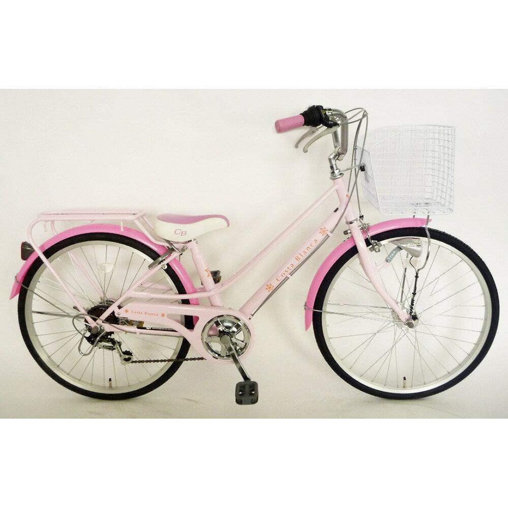 【クリアランス】トイザらス  AVIGO 24インチ 子供用自転車 コスタブランカ セレブ オートライト