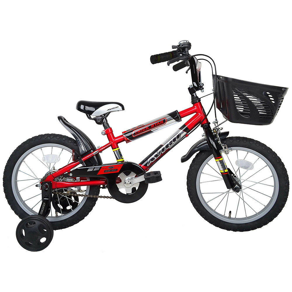 16インチ 子供用自転車 トリックスター2 (レッド)【男の子向け】