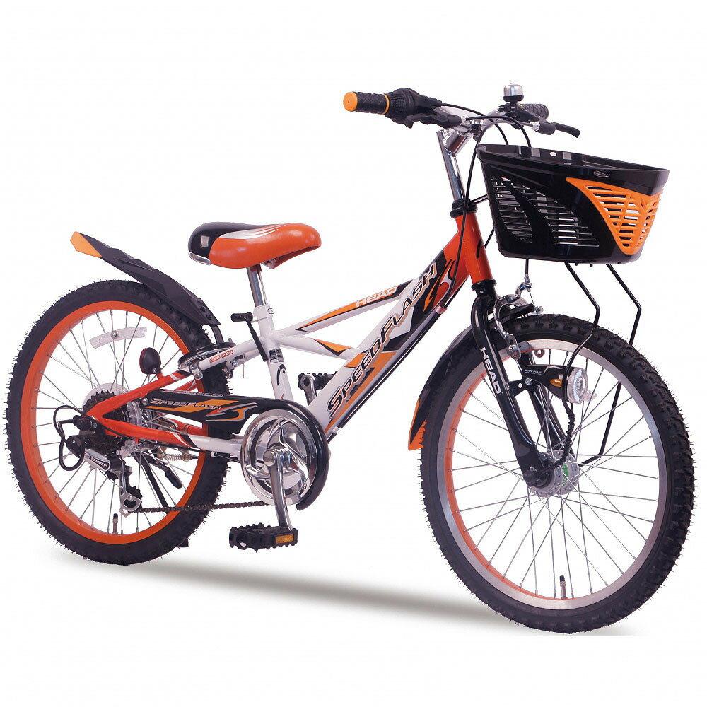 20インチ 子供用自転車 HEAD CTB スピードフラッシュ6SHD