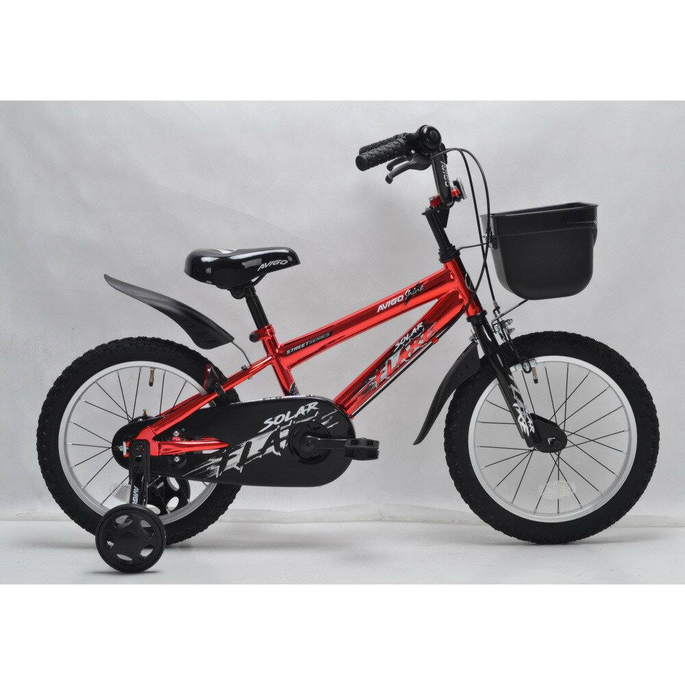トイザらス AVIGO 16インチ 子供用自転車 シャインレッド