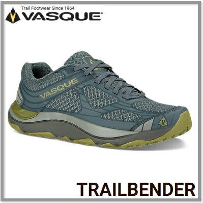 人気激安 VASQUE バスクTrail Bender(トレイルベンダー)メンズダークスレート