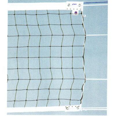 ■送料無料■▼asics▼アシックス 2829EK 6人制バレーボールネットエコタイプ検定AA級 国際バレーボール連盟のルール改正にともなった上部白帯7cm巾、下部白帯5cm巾の新規格バレーネット[シリーズ:バレーボールネット]【RCP】