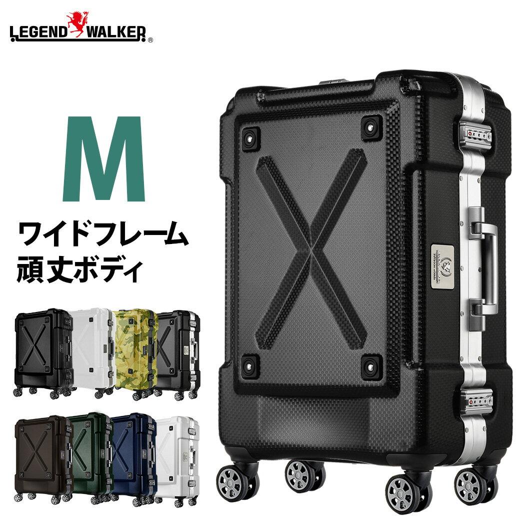 スーツケース キャリーケース キャリーバッグ 旅行用品 M サイズ 超軽量 PC100% フレーム キャリーバック 旅行用かばん 中型 5日 6日 7日 無料受託手荷物 158cm 以内 アウトドア『6302-62』