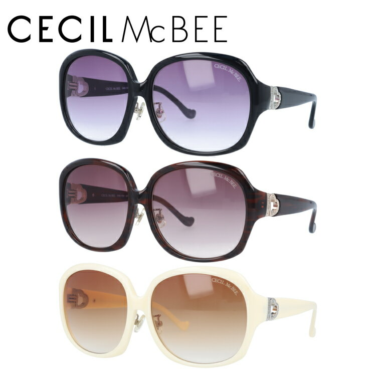 セシルマクビー サングラス CECIL McBEE CMS1004 全3カラー レディース 女性 ブランドサングラス メガネ UVカット カジュアル ファッション 人気