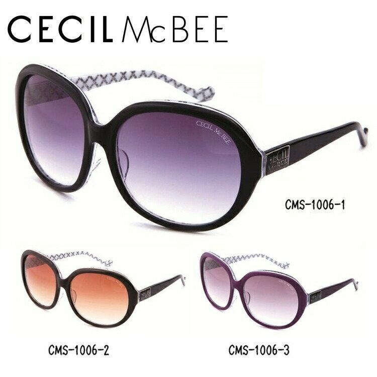 セシルマクビー サングラス CECIL McBEE CMS1006 全3カラー レディース 女性 ブランドサングラス メガネ UVカット カジュアル ファッション 人気