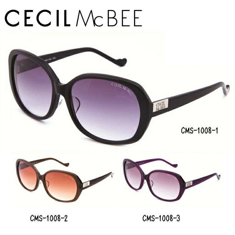 セシルマクビー サングラス CECIL McBEE CMS1008 全3カラー レディース 女性 ブランドサングラス メガネ UVカット カジュアル ファッション 人気