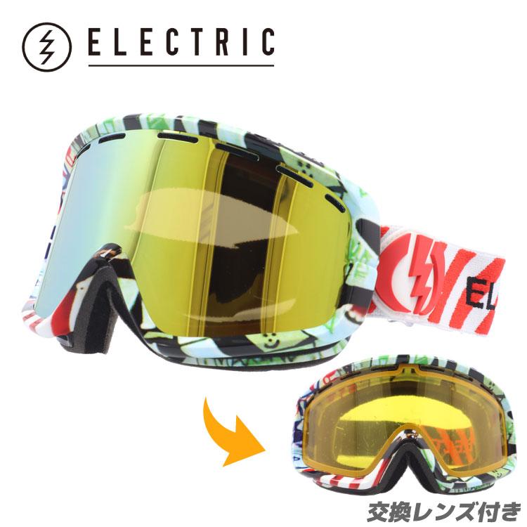 エレクトリック ゴーグル ELECTRIC EG1012706 BGDC EGB2 Rat Face Bronze/Gold Chrome スキー スノーボード ウィンタースポーツ ボーナスレンズ付き GOGGLE