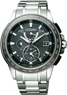 【シチズン】 CITIZEN ソーラー 電波 腕時計 メンズ AT9024-58E ダブルダイレクトフライト ATTESA アテッサ