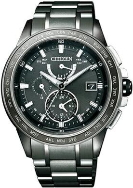 【シチズン】 CITIZEN ソーラー 電波 腕時計 メンズ AT9025-55E ダブルダイレクトフライト ATTESA アテッサ