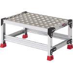 【トラスコ】 アルミ合金製作業台 縞鋼板 600X400X300 (336-5093) TSFC163
