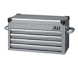 【KTC】 トップ チェスト 4段4引出 シルバー  EKR-1004