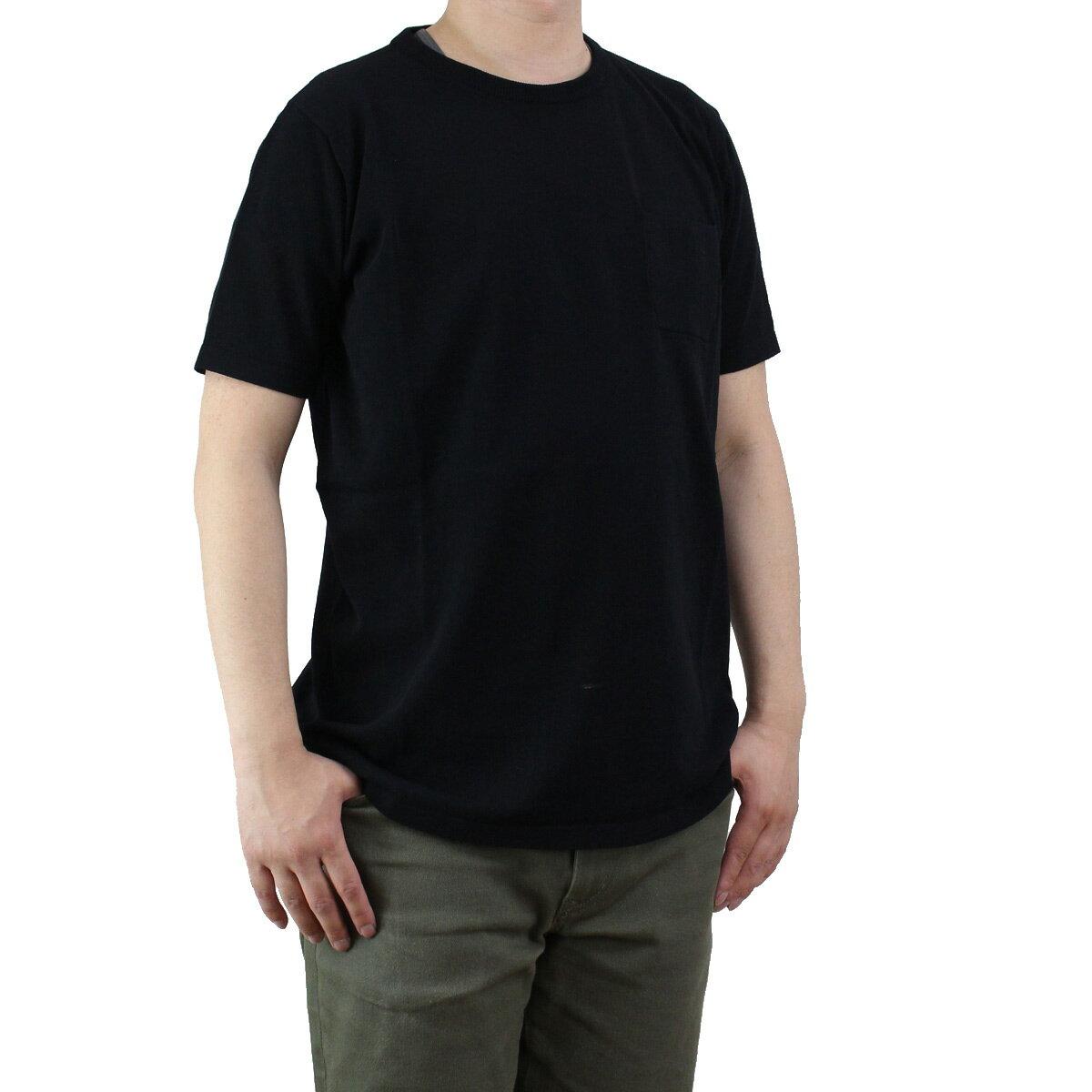 バーク Bark メンズ 半袖 サマー セーター 71B6006 261 BLACK ブラック 【メンズ】