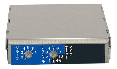 ユニペックス UNI-PEX DU-850A WAシリーズ専用ワイヤレスチューナーユニット(800MHzダイバシティ)