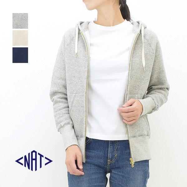 BN ビーエヌ L/Czip-upパーカ N5104 レディース 【送料無料】【グレー】