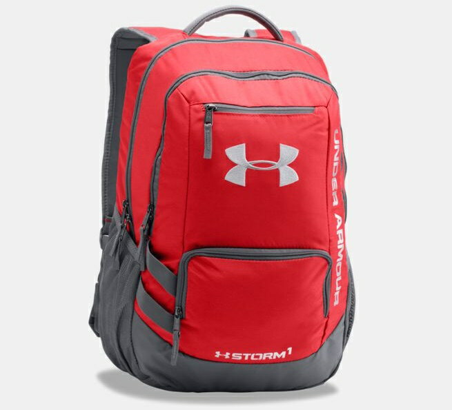 Under Armour Storm Hustle II Backpack メンズ Red/Graphite バックパック リュックサック アンダーアーマー