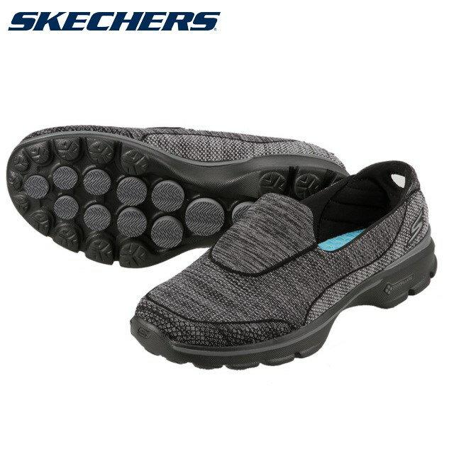 [スケッチャーズ] SKECHERS 14046 レディース | スリッポン スニーカー | GO WALK 3 - SUPER SOCK 3 | 衝撃吸収 ウォーキング | ブラック