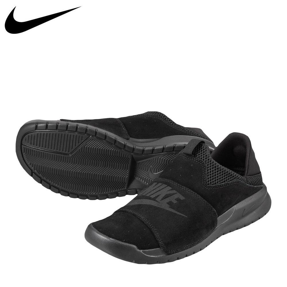 ナイキ NIKE スニーカー 882410-003 メンズ 靴 シューズ 2E相当 スニーカー スリッポン 軽量 ナイキ ベナッシ SLP カジュアル かかとが踏める 大きいサイズ対応 28.0cm ブラック