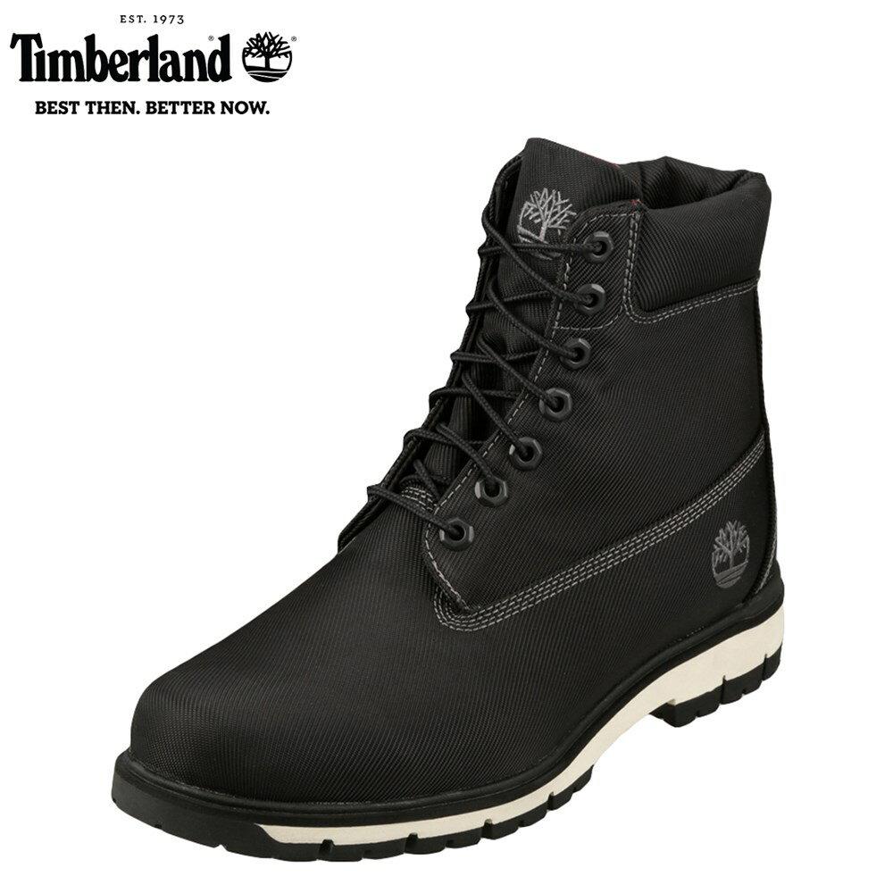 [大感謝祭中ポイント5倍]【期間限定価格】ティンバーランド Timberland ブーツ TIMB A1MFI メンズ 靴 シューズ 3E相当 ショート ブーツ カジュアル RADFORD ラドフォード 幅広 3E アメカジ 大きいサイズ対応  28.0cm ブラック  TSRC