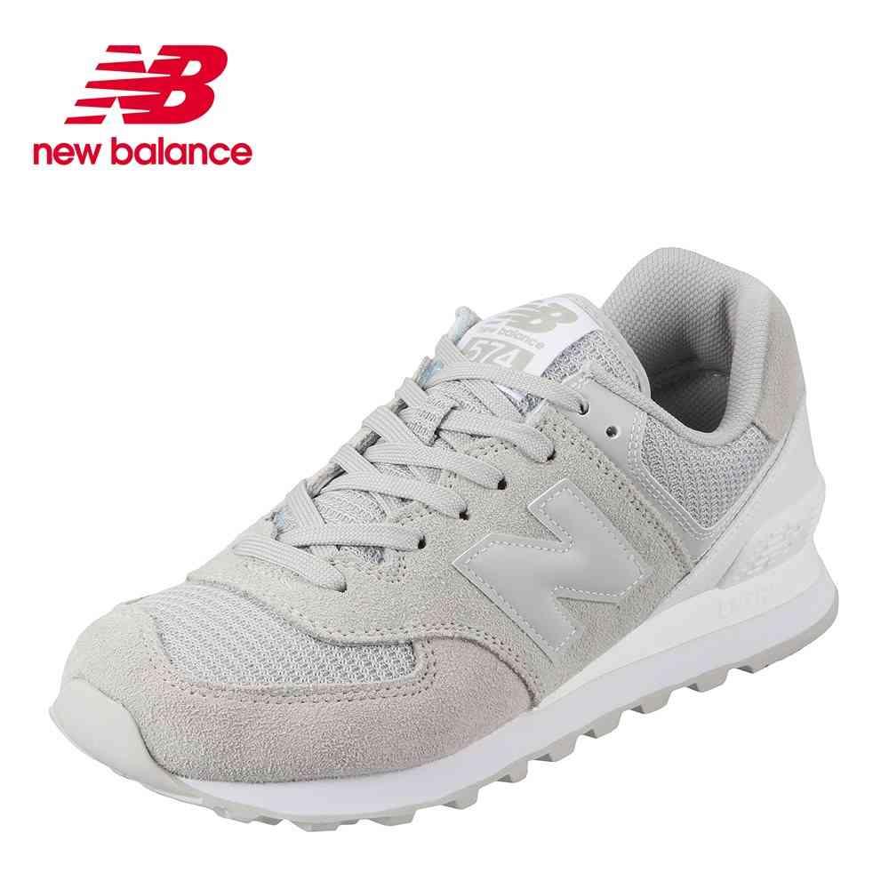 ニューバランス new balance スニーカー ML574WBDL レディース 靴 シューズ D相当 ランニングシューズ カジュアル スニーカー トレーニング ジム スポーツ おしゃれ 歩きやすい  普段履き グレー TSRC