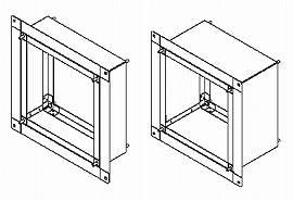 KW-U25VPD 東芝 換気扇 システム部材 インテリア有圧換気扇専用薄壁取付枠