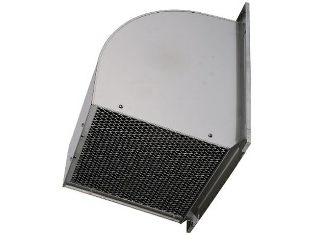 ●W-60SDBC 三菱電機 有圧換気扇用システム部材 ウェザーカバー 排気形防火タイプ 厨房等高温場所用 ステンレス製 防鳥網標準装備