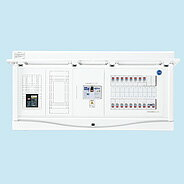 HCB13E7-322STLR3B 日東工業 ホーム分電盤 エコキュート(電気温水器)+IH+太陽光発電用 リミッタスペース付 HCB形ホーム分電盤 (ドア付) 露出・半埋込共用型(プラスチックキャビネット使用)