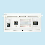 HCB3E7-302STL3B 日東工業 ホーム分電盤 エコキュート(電気温水器)+IH+太陽光発電用 リミッタスペースなし HCB形ホーム分電盤 (ドア付) 露出・半埋込共用型(プラスチックキャビネット使用)