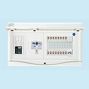 HCB3E7-322STLR3B 日東工業 ホーム分電盤 エコキュート(電気温水器)+IH+太陽光発電用 リミッタスペースなし HCB形ホーム分電盤 (ドア付) 露出・半埋込共用型(プラスチックキャビネット使用)