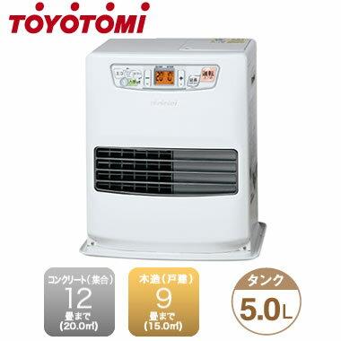 ◇LC-S33G(W) 【当店おすすめ!お買得品 即日発送できます】 トヨトミ 石油暖房器具 人感センサー機能付き コンパクト石油ファンヒーター