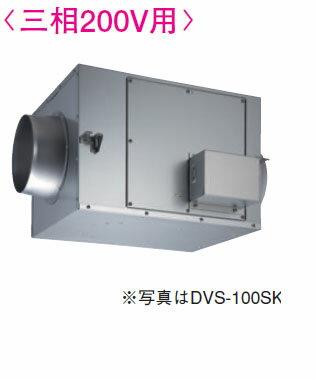 東芝 換気扇ストレートダクトファン静音形<三相200V用> DVS-100TK