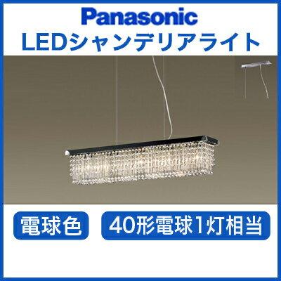 パナソニック Panasonic 照明器具LUXEMONDE LEDシャンデリア電球色 40形電球1灯相当LGB19577