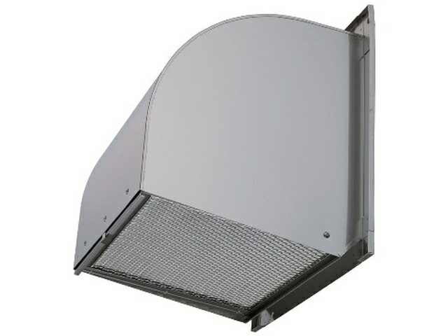 ●三菱電機 有圧換気扇用システム部材ウェザーカバー 一般用 防火タイプ フィルター付排気形屋外メンテナンス簡易タイプ ステンレス製W-50SDBF